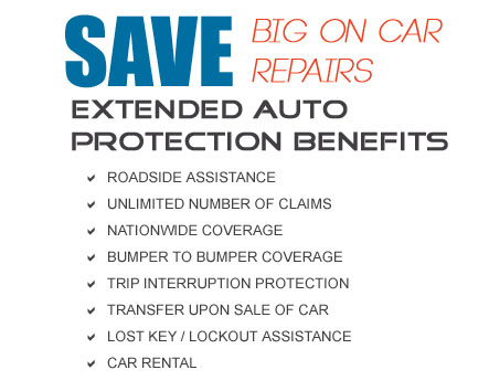 Advantage Preferred Service Contract Coverage  Professional Car Service